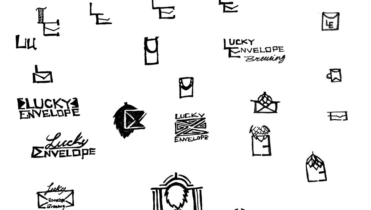 Lucky Envelope Sketches