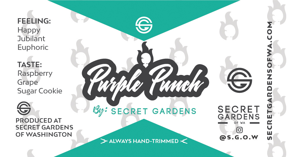 Secret Gardens Purple Punch