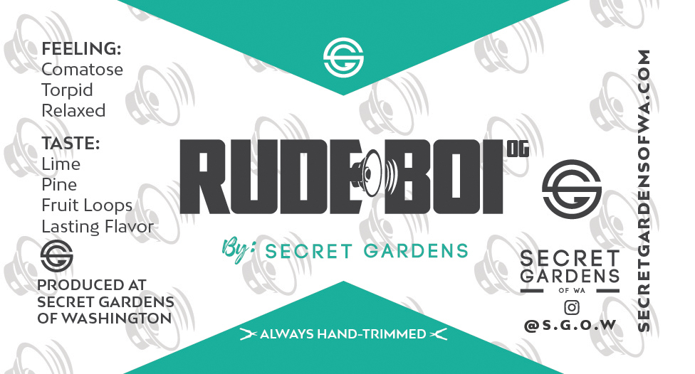 Secret Gardens Rude Boi