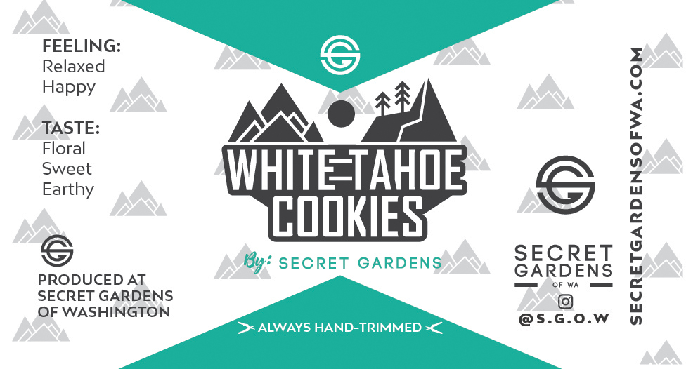 Secret Gardens White Tahoe Cookies