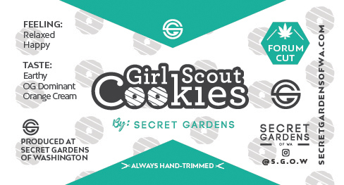 Secret Gardens Girl Scout Cookies
