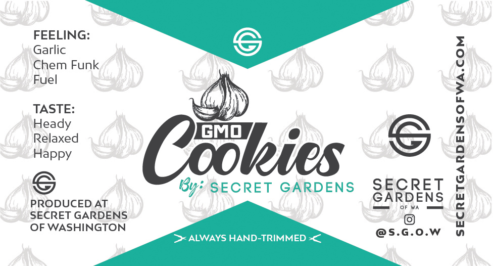 Secret Gardens GMO Cookies