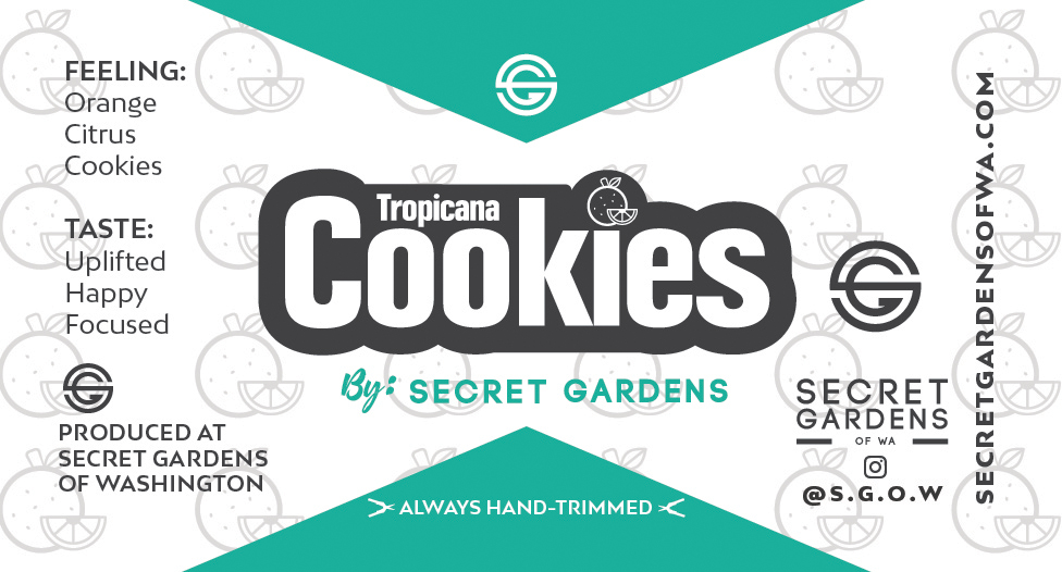 Secret Gardens Tropicana Cookies