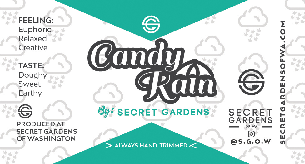 Secret Gardens Candy Rain