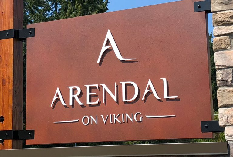 Arendal On Viking Sign