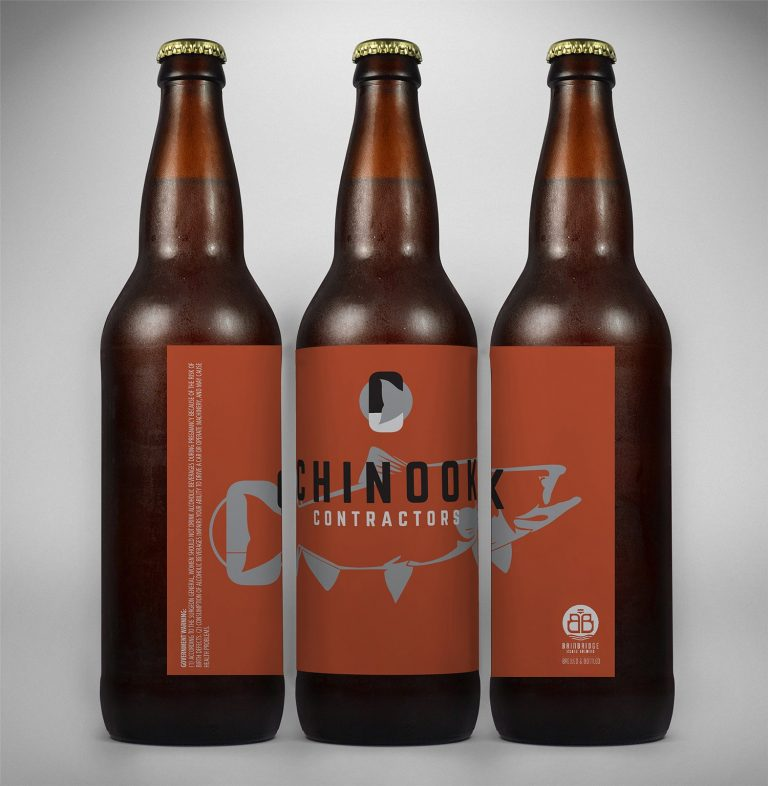 Chinook Contractors Custom Beer