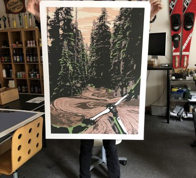 State of Mind Mountain Biking Poster