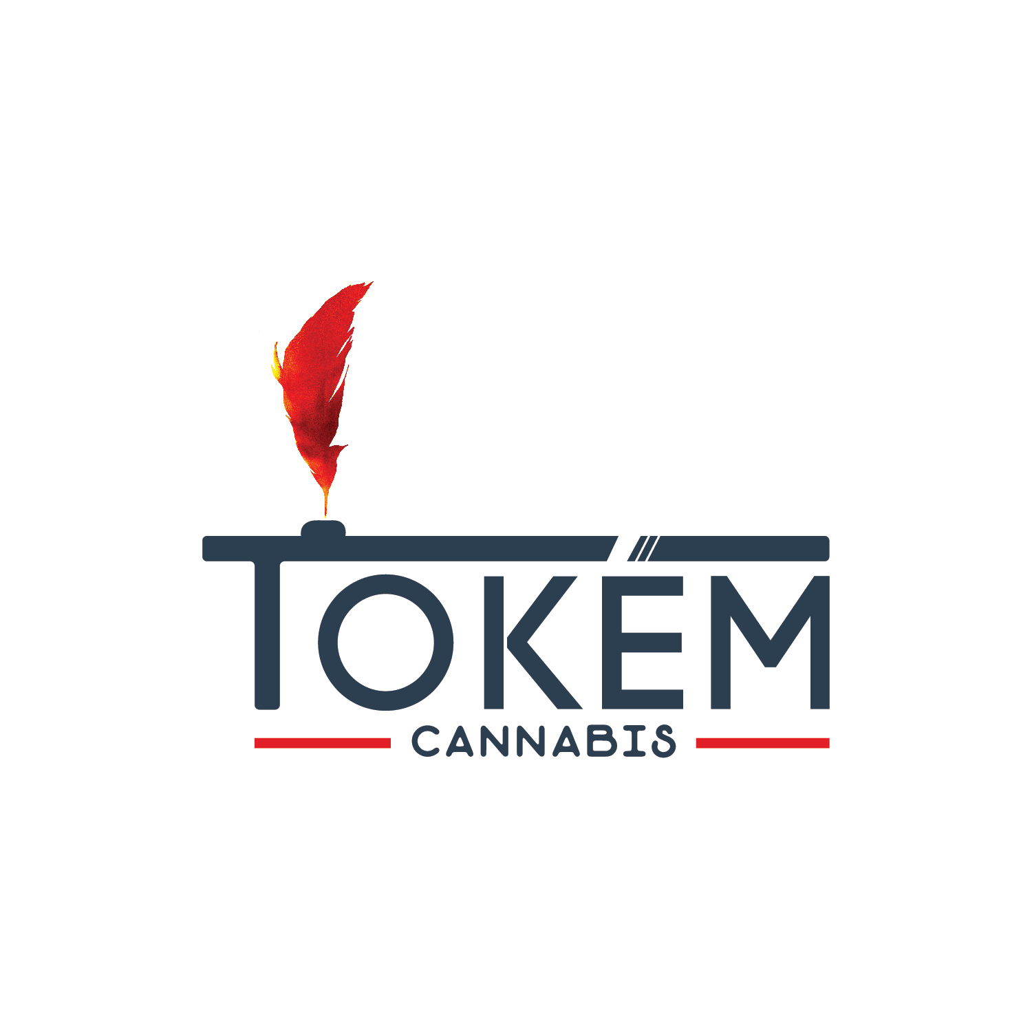 Tokem Cannabis Blue Logo