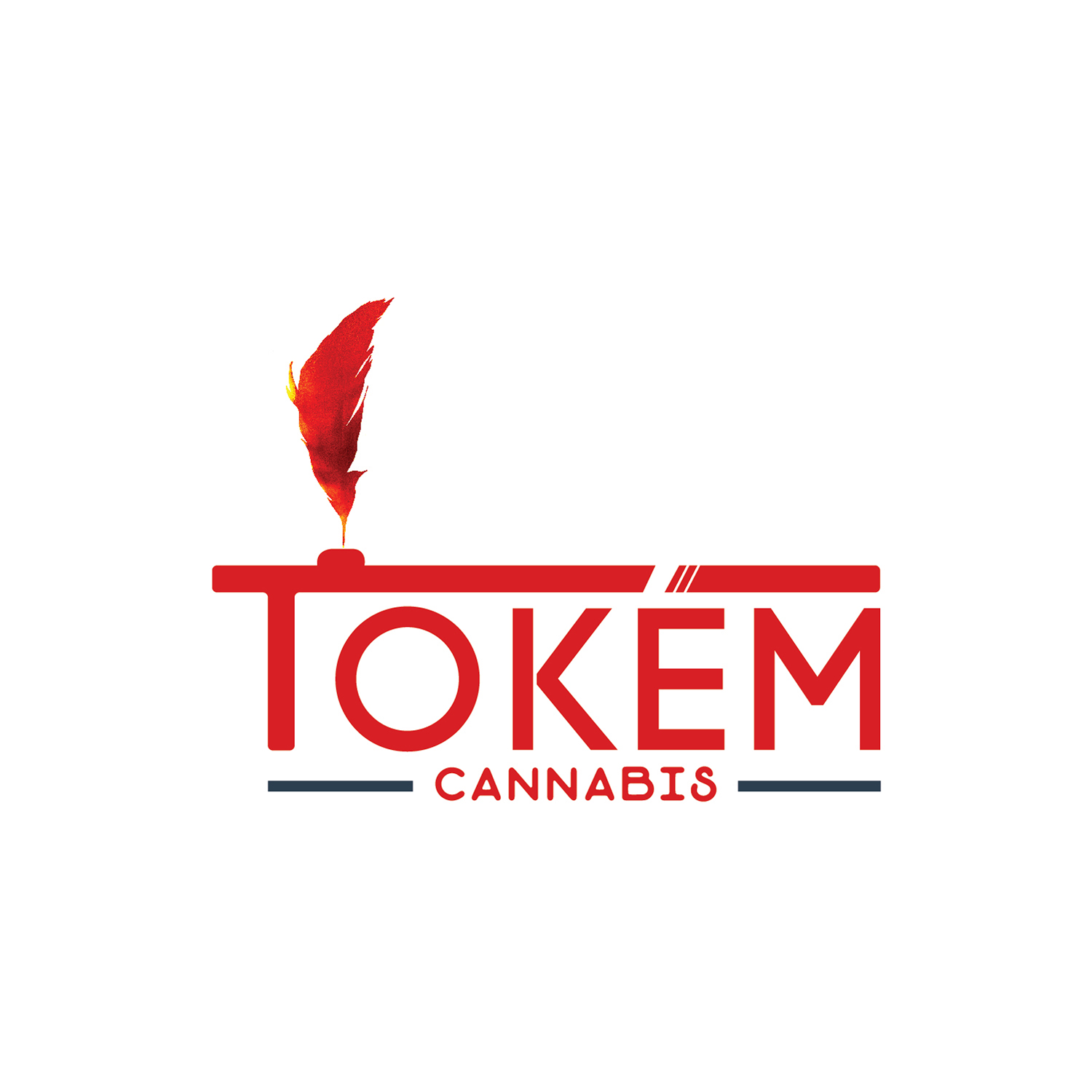Tokem Cannabis Red Logo